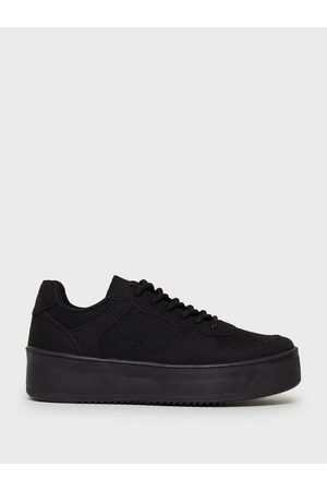 NLY Shoes Dame Sneakers - Flirty Platform Sneaker /