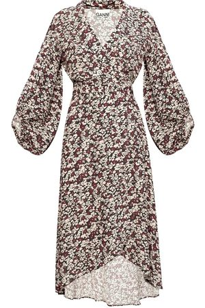 Ganni Floral-printed dress