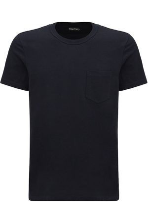 Tom Ford Marl Cotton Jersey T-shirt