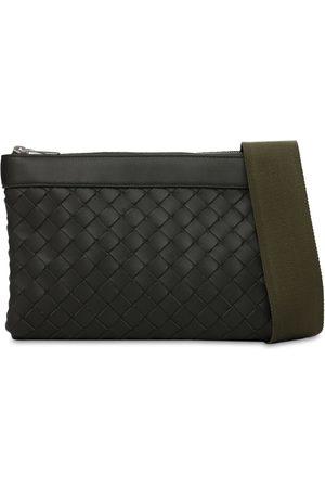 Bottega Veneta Herre Skuldervesker - Intreccio Duo Hydrology Leather Bag
