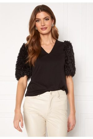 Vero Moda Rory 2/4 V-Neck Top Black L