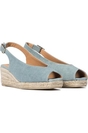 Castaner Dosalia canvas wedge espadrilles