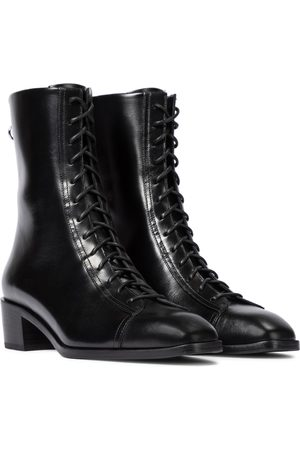Aeydē Noel leather ankle boots
