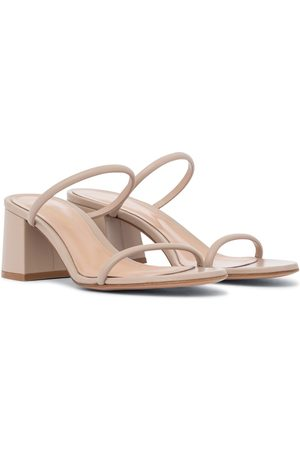 Gianvito Rossi Byblos 60 leather sandals
