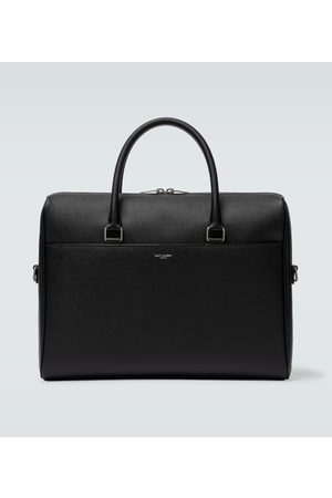 Saint Laurent Duffle leather briefcase