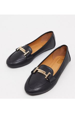 Raid RAID Nidhi Wide Fit loafer with snaffle in black