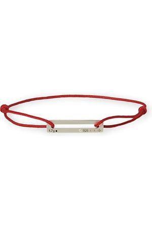 Le Gramme Cord Bracelet Le 17/10 Red/Sterling Silver