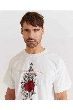 The People Vs T-shirt Snake Dagger Vintage Box Tee