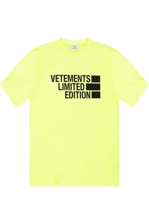 Vetements T-shirt with logo