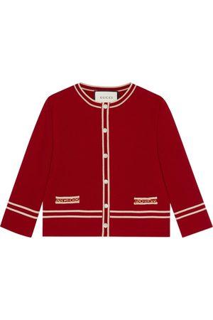 Gucci Wool jacket with GG jacquard