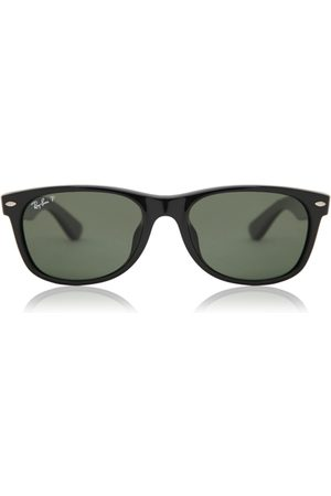 Ray-Ban Herre Solbriller - Solbriller RB2132F New Wayfarer Asian Fit Polarized 901/58