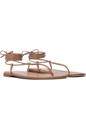 Gianvito Rossi Gwenyth leather sandals