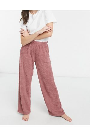 ASOS Mix & match lounge fluffy trouser in brown