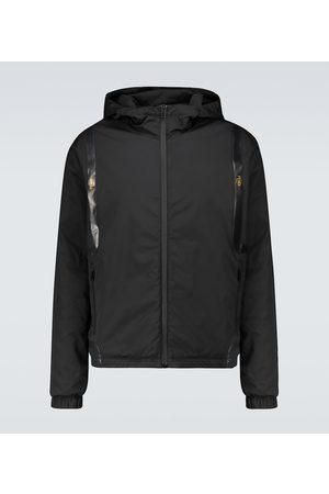Fendi X K-Way padded jacket