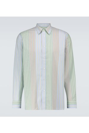 J.W.Anderson Relaxed-fit striped cotton shirt