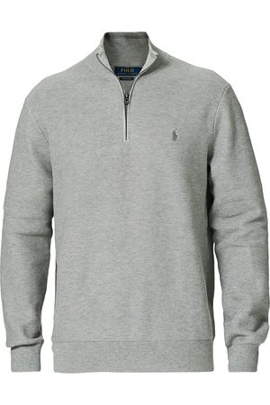 Polo Ralph Lauren Herre Gensere - Textured Half-Zip Andover Heather