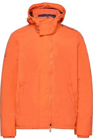 Superdry Hooded Technical Pop Zip Windcheater Outerwear Jackets Anoraks