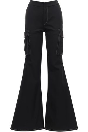 SUNNEI Cargo Loose Flared Workwear Pants
