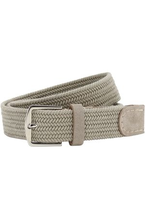 Loro Piana 3.5cm Sea-weave Cotton Belt