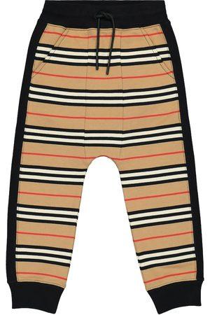 Burberry Icon Stripe cotton trackpants