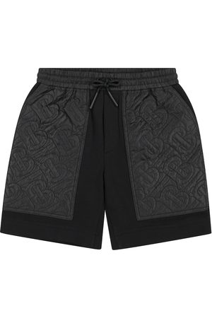 Burberry Monogram quilted cotton shorts