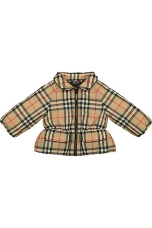 Burberry Baby Vintage Check down jacket