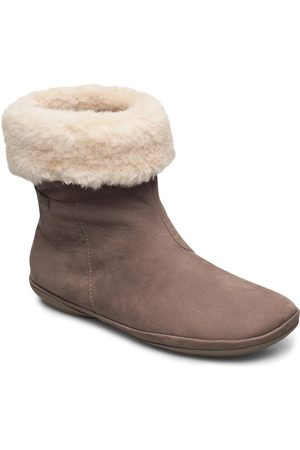 Camper Right Shoes Boots Ankle Boots Ankle Boot - Flat Brun