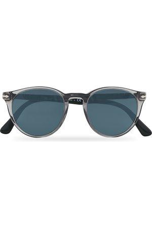 Persol PO3152S Sunglasses Smoke/Light Blue