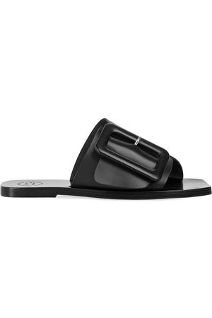 ATP Atelier 10mm Ceci Leather Slide Flats