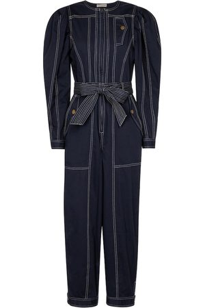 ULLA JOHNSON Leo cotton jumpsuit