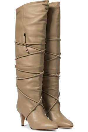 Isabel Marant Lades leather knee-high boots