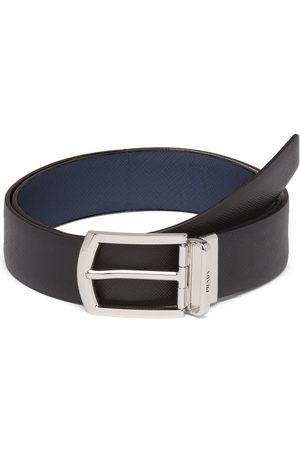 Prada Herre Belter - Reversible Saffiano leather belt