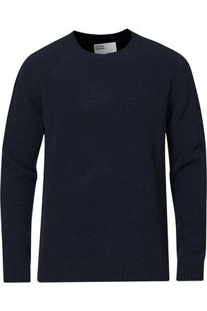 Colorful Standard Classic Merino Wool Crew Neck Navy Blue