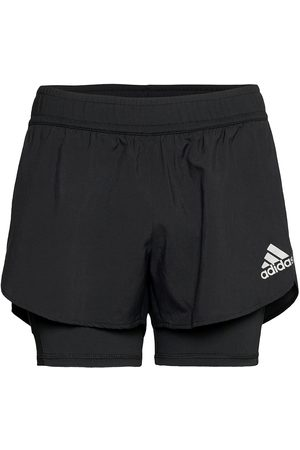 adidas Dame Treningsshorts - Fast Primeblue Two-In- Shorts W Shorts Sport Shorts