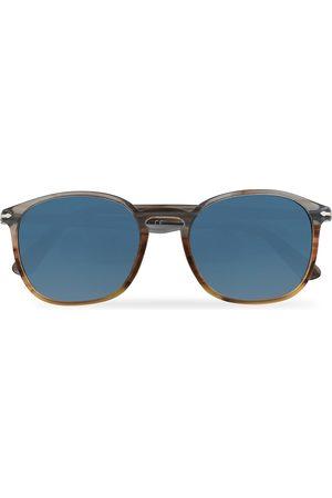 Persol PO3215S Sunglasses Brown/Gradient Blue