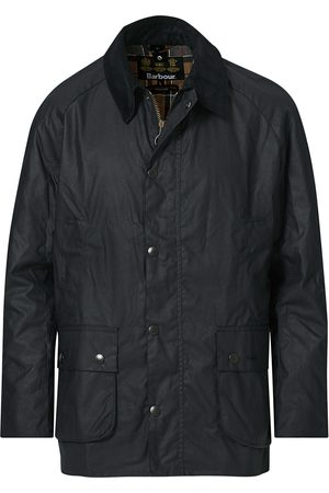 Barbour Herre Jakker - Ashby Wax Jacket Navy