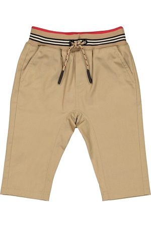 Burberry Baby Icon Stripe cotton trackpants