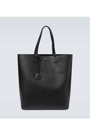 Saint Laurent Leather shopping tote bag