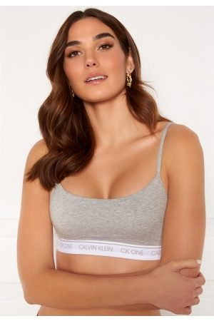 Calvin Klein Unlined Bralette 020 Grey Heather XS