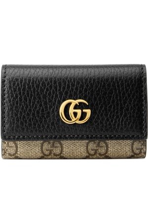 Gucci Dame Nøkkelringer - GG Marmont leather key case