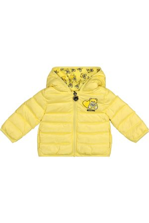 Moschino Baby quilted down jacket
