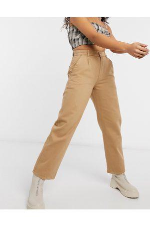 Minga London high waisted mom jeans in denim-Neutral