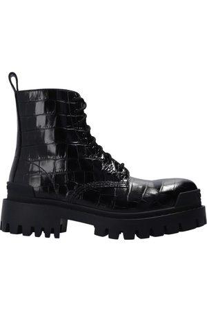 Balenciaga Dame Skoletter - Strike lace-up ankle boots