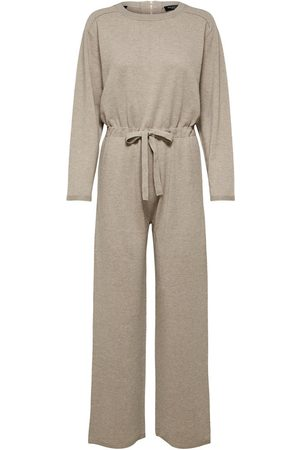 Selected Inka cashmere LS knit jumpsuit