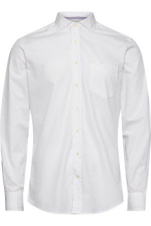 Hackett White Oxf Eng Str Ks Skjorte Business