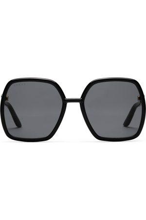 Gucci Solbriller - Square-frame sunglasses