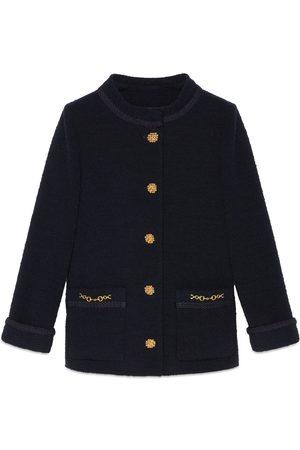 Gucci Tweed crêpe jacket