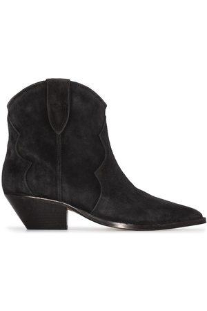 Isabel Marant Dame Skoletter - Dewina suede ankle boots