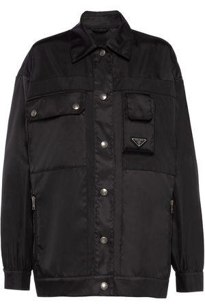 Prada Dame Jakker - Gabardine blouson jacket