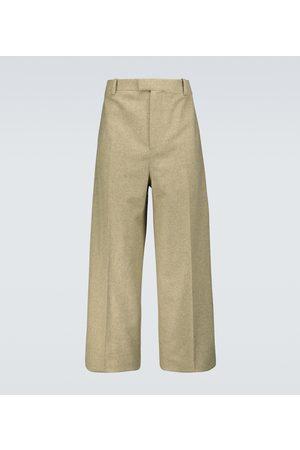 Bottega Veneta Wool-blend flannel pants